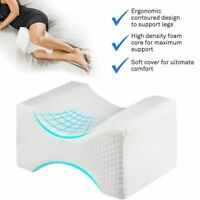 Leg Pillow Memory Foam Bed Orthopaedic Firm Back Hips Knee Support Cover