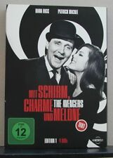 2 DVD-Boxen (insgesamt 8 DVDs) - Mit Schirm, Charme und Melone - Edition 1