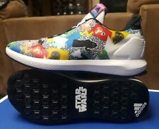 ADIDAS X STAR WARS CLOUDFOAM SHOES SIZE 6Y YOUTH BY3027 YODA DARTH VADER R2D2