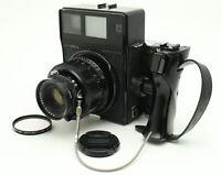MAMIYA UNIVERSAL PRESS + SEKOR P 127mm f/4.7 + Polaroid Film Back [Excellent++]