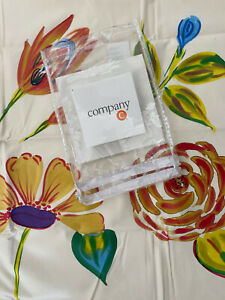 Company C, The Prima Collection King Size Pillow Sham Ecru Floral 20x36
