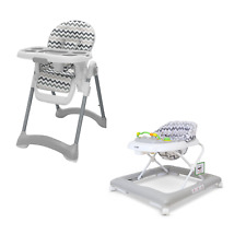 Baby Entertainment Play Time Baby Walker + Highchair Child Development - Chevy