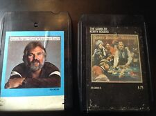 Kenny Rogers 2 x  8 track FREE SHIPPING