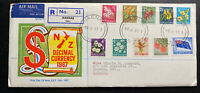 1967 Naenae New Zealand First Day Cover FDC To London Canada Decimal Currency