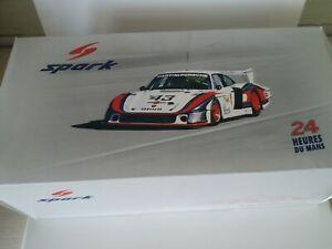1:18 SPARK Schurti Stommelen Porsche 935/78 Moby Dick 24 Le Mans 1978 Martini