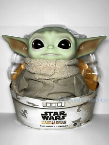 Mattel Star Wars Mandalorian The Child Baby Yoda 11-inch Plush New