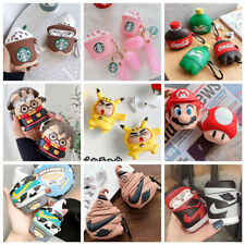 3D Cartoon Cute Airpod Silicone Case cover for Apple Airpods Pro 1/2 Accessories