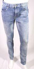 GJ9-201 Clockhouse Skinny Herren Jeans Denim blau W34 L32 Stretch tapered leg