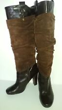 Nine West ladies chocolate boot Size 7M