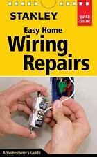 Stanley Easy Home Wiring Repairs Book~Tools~Basic Skills~Lights~Outlets~More~NEW