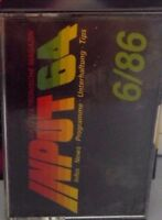 INPUT 64 C 64 Cassette 6/86 1986 (Tape) (Game)