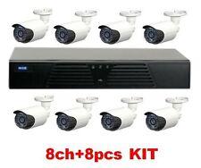 Enxun 8CH AHR KIT 720P HDMI 1MP 720P AHD Camera MVR-HK882