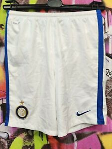 Internazionale Milano Football Soccer Shorts INTER MILAN Nike Boys Youth Size XL
