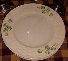 Set Of Four Belleek 7 inch Plates Minty
