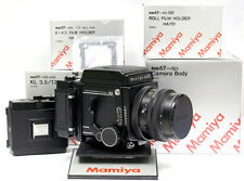Mamiya RB PRO SD CAMERA SET KIT (BODY + 127mm LENS + SD 120 6x4.5 + 6x7 BACKS)