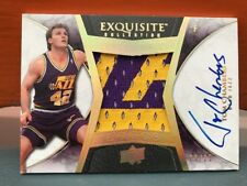 2008-09 Upper Deck Exquisite Auto Patch Tom Chambers #'d 25/25