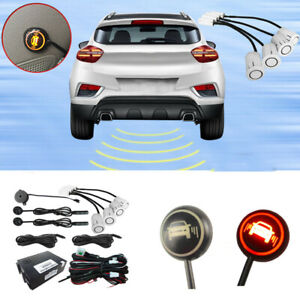 Blind Spot Detection and Monitoring Alert System with 4 Sensor for Car and SUV