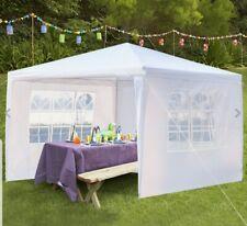 Carpa para eventos al aire libre de 3m × 3m con paredes y ventanas Party picknic