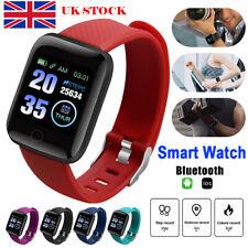 116Plus Smart Watch Heart Rate Minitor Blood Pressure Fitness Tracker Waterproof