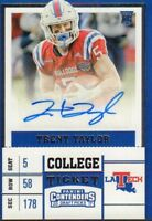 Trent Taylor 2017 Panini Autographed Signed #258 jh67