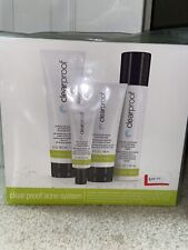 Mary Kay Clear Proof Acne System 4 Piece Set Full Size Brand New