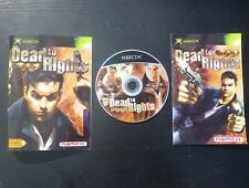 JEU Microsoft XBOX : DEAD TO RIGHTS (Namco COMPLET envoi suivi)
