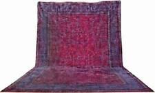 Antik Taj Mahal Palace Rosa Carpet fein Perser Teppich Orientteppich 6,50 X 4,50