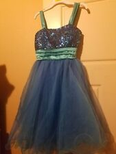 Kids pageant dress 16 fits 10-12