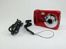 Vivitar Vivicam XX14 20.1MP Selfie Cam Digital Camera Red