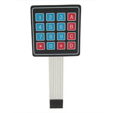 New High Quality 4 x 4 Matrix Array 16 Key Membrane Switch Keypad Keyboard LU