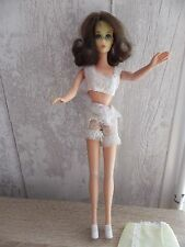 POUPEE MANNEQUIN BARBIE MATTEL TWIST N TURN FLIP HAIR MADE IN JAPAN 1966