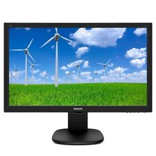 Philips 243S5LJMB 23.6 inch LED 1ms Monitor - Full HD, 1ms, Speakers, HDMI, DVI