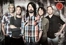 """FOO FIGHTERS """"GROUP STANDING BEHIND DAVE GROHL""""  POSTER FROM ASIA - Nirvana"""