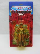 MOTU,VINTAGE,TEELA,Brown Boots,Masters of the Universe,MOC,carded,SEALED,he man