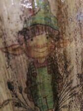 Original Acrylic Colours Painting on Reclaimed Wood - Goblin