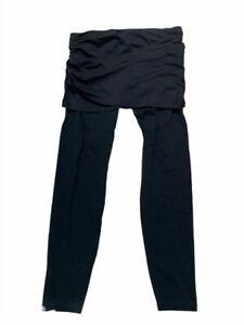 CABI Mesh Black M'Leggings. Skirted Leggings; STYLE: 5080. Size S
