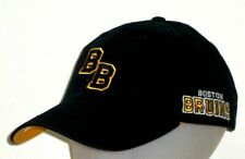 Boston Bruins Adidas NHL Adjustable Unstructured Slouch Black Dad Hat / Cap