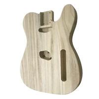 Unfinished Electric Guitar Body Barrel For Tele TL Guitar Polished DIY Parts