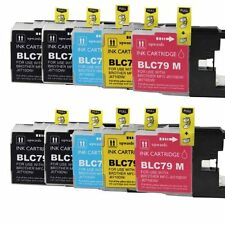 10 Color INK for Brother MFC-J6710 MFC-J6910DW LC 79BK LC 79C LC 79M LC 79Y LC79