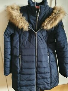 Geographical Norway Winterjacke Cerise  Damen XL neu ohne Etikett