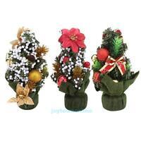 20cm Mini Christmas Tree Festival Party Ornaments Xmas Table Decoration Gift