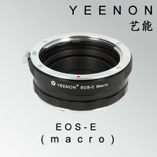 Yeenon CANON EOS lens to SONY E-MOUNT  body EOS-NEX Helicoid Adapter(macro)