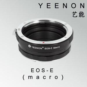 YEENON CANON EOS lens to SONY E-MOUNT  body EOS-NEX Helicoid Adapter(macro)