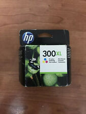 Genuine HP 300XL Tri-Colour Printer Ink Cartridge