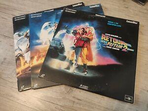 Laserdisc trilogie Retour vers le futur