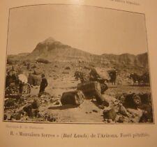 Grande Excursion dans L'ouest et au Mexique. E. de Martonne. Washington 1905
