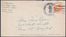 BR GUIANA 1945 US Forces 5c envelope APO 857 - Atkinson Field Georgetown....R698