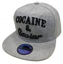 SnapBack cap gorra basecap gorra hip-hop Cool Trucker Cocaine & caviar Cappy