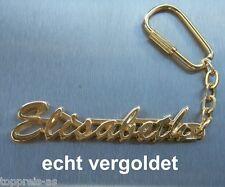 Büro & Schreibwaren Edler SchlÜsselanhÄnger Elke Vergoldet Gold Name Keychain Weihnachtsgeschenk
