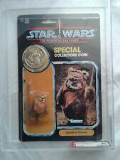 Star Wars - Power Of The Force (1985) - Wicket - AFA Graded: 80